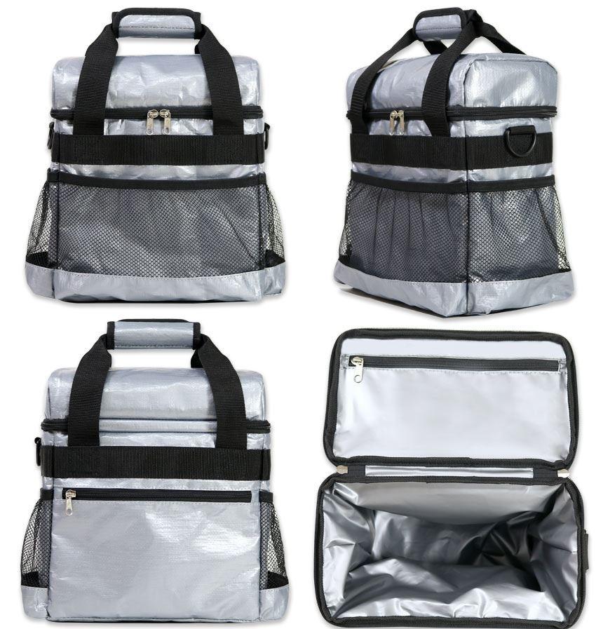 多功能收納保溫冷袋-多口袋,奶瓶,尿布,車用保鮮袋都好用