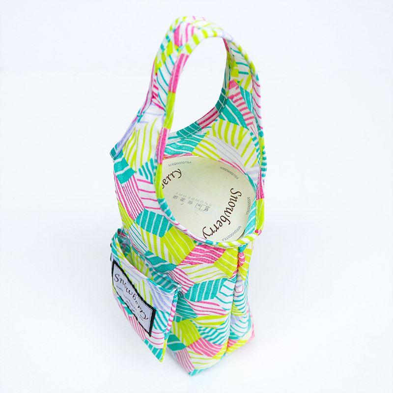 環保 口袋收折 保溫瓶提袋 冰壩杯 各式尺寸都適用